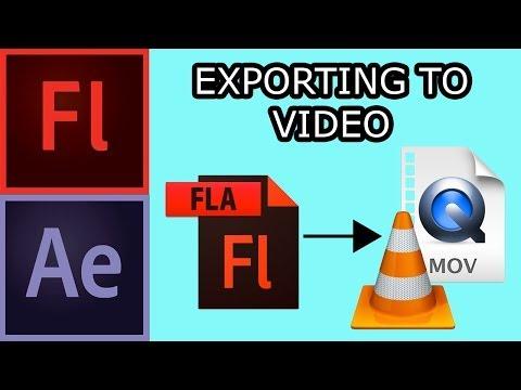 Exporting in Flash CS5 002 - Export to Video