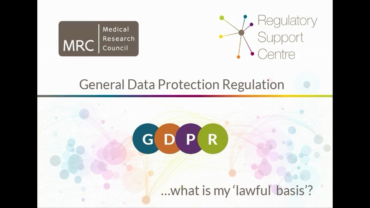 GDPR: What researchers need to know - News and features - Medical