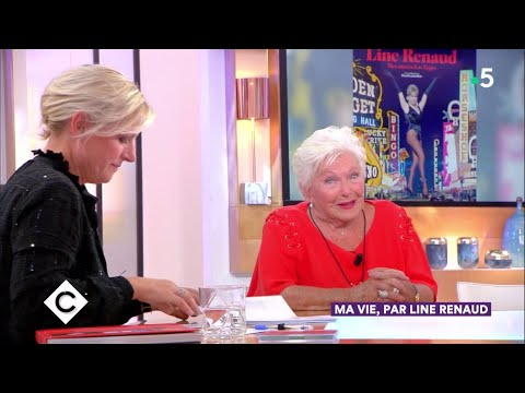 Ma vie, par Line Renaud - C à Vous - 21/09/2018