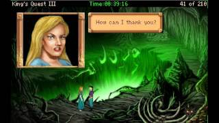 Let's Play LIVE: King's Quest 3 AGD (part 2)