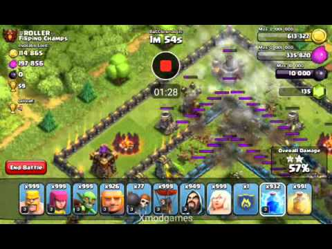 Clash of Clans - Xmod Games SandBox Attack