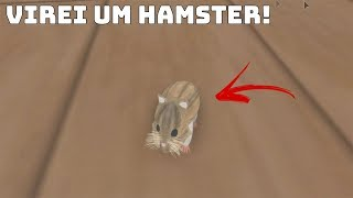 ROBLOX: I TURNED INTO A HAMSTER AND EXPLORED THE HOUSE! (Hamster Simulator)