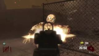 High round attempt bo2 zombies.