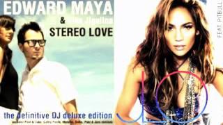 Stereo Love x On The Floor Mashup - Edward Maya, Vika Jigulina and Jennifer Lopez