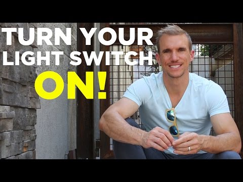 Turn Your Light Switch On - People Depend On Your Success