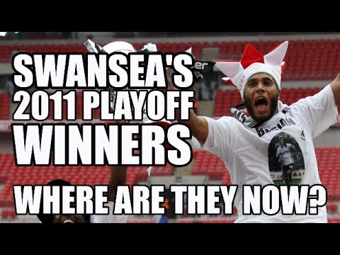 Swansea's 2011 Play-Off Final XI: Where Are They Now?