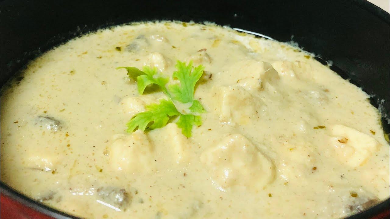Nawabi Paneer Mushroom gravy