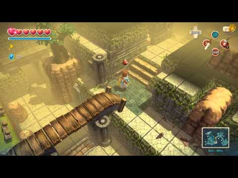 Oceanhorn Monster of Uncharted Seas Great Forest 100% Complete Walkthrough (PC/iOS) [HD]