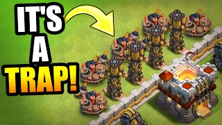 HE TRIED TO TROLL ME LOL!! - Clash Of Clans - LEGEND LEAGUE TROLL!