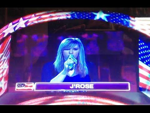 J'Rose - The National Anthem At Staples Center