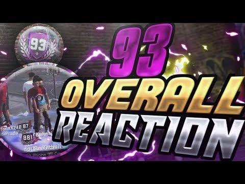 """Reacción 93 overall """"Opinion personal"""" Nba2k18"""