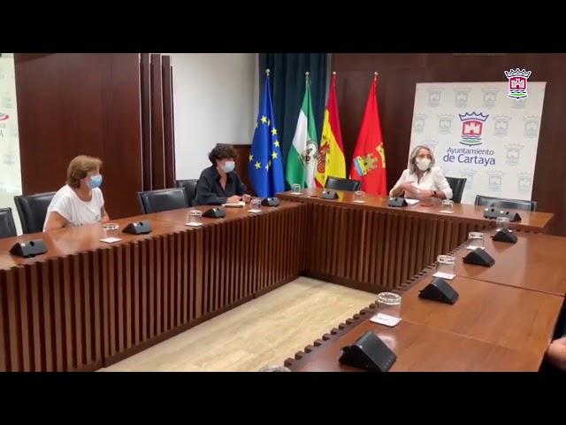 Ayto. Cartaya | El Ayuntamiento y la Asociación de Amas de Casa estrechan su colaboración