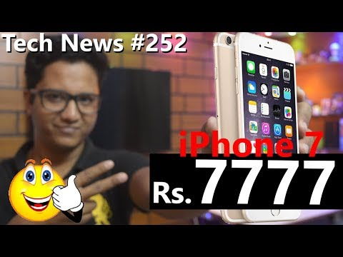 Tech News of The Day #252 - iPhone7 at Rs.7777,Canon G1 X Mark III,Samsung Price Cut,Huawei Y6 Pro