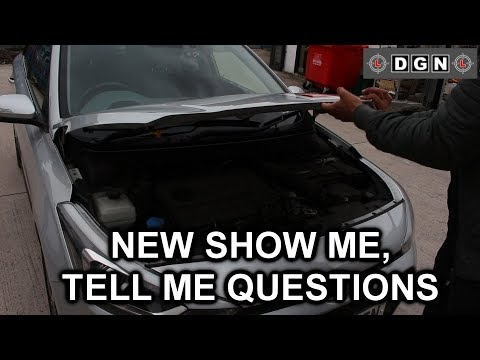 New Show Me Tell Me Questions For Practical Driving Test - Driving Test Tips