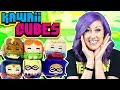Harley Quinn Suicide Squad Kawaii Cubes with DC Superhero Girls with Poison Ivy, Batgirl & Supergirl