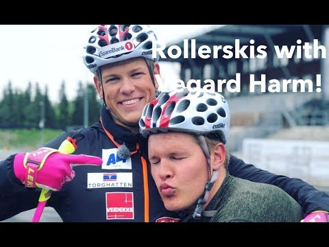 Rollerskis with Vegard Harm! | Vlog 21²