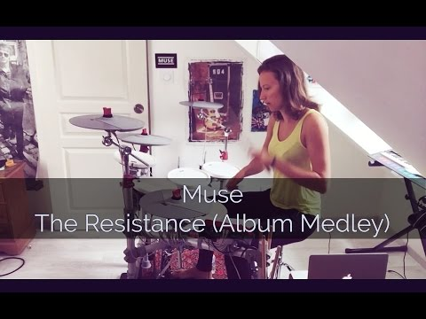 Muse - The Resistance (Album Medley) - DRUM COVER