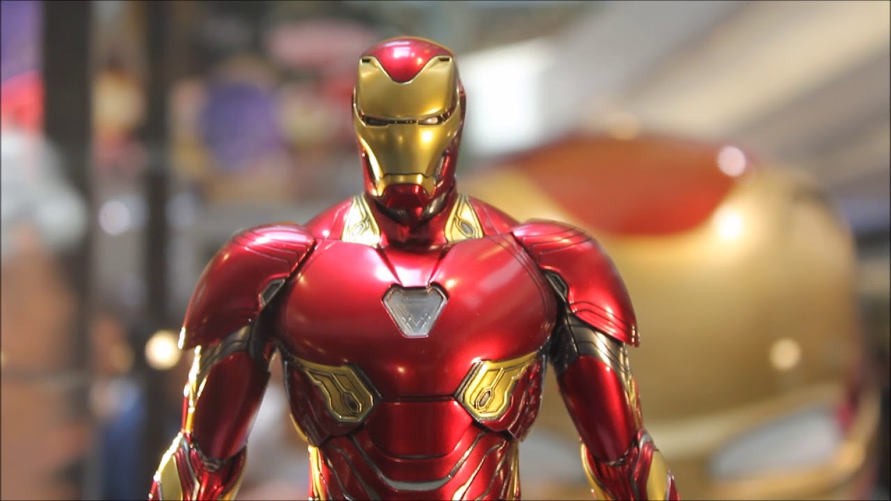 "first look ! hot toys avengers: infinity war 1/6 ""iron man mark 50"