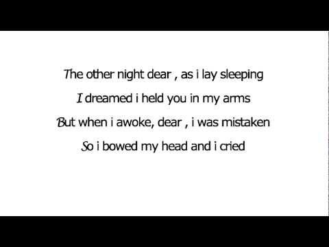 Johnny Cash - You are my sunshine Lyrics