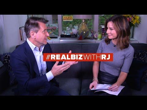 Shark Tank Robert Herjavec  Real Biz with Rebecca Jarvis  ABC