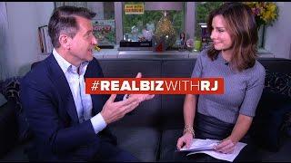 Shark Tank Robert Herjavec | Real Biz with Rebecca Jarvis | ABC News