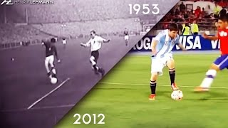 Lionel Messi Classic Goals ● Recreating Iconic Goals By Legends ● 1953-2016 HD