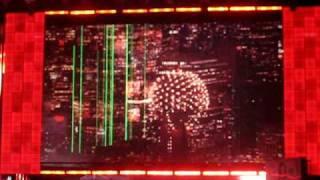 WWE RAW Opening Pyro LIVE
