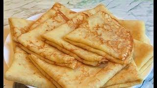 Сырные Блины (Ооочень Вкусно) / Cheese Pancakes Recipe / Рецепт Блинов