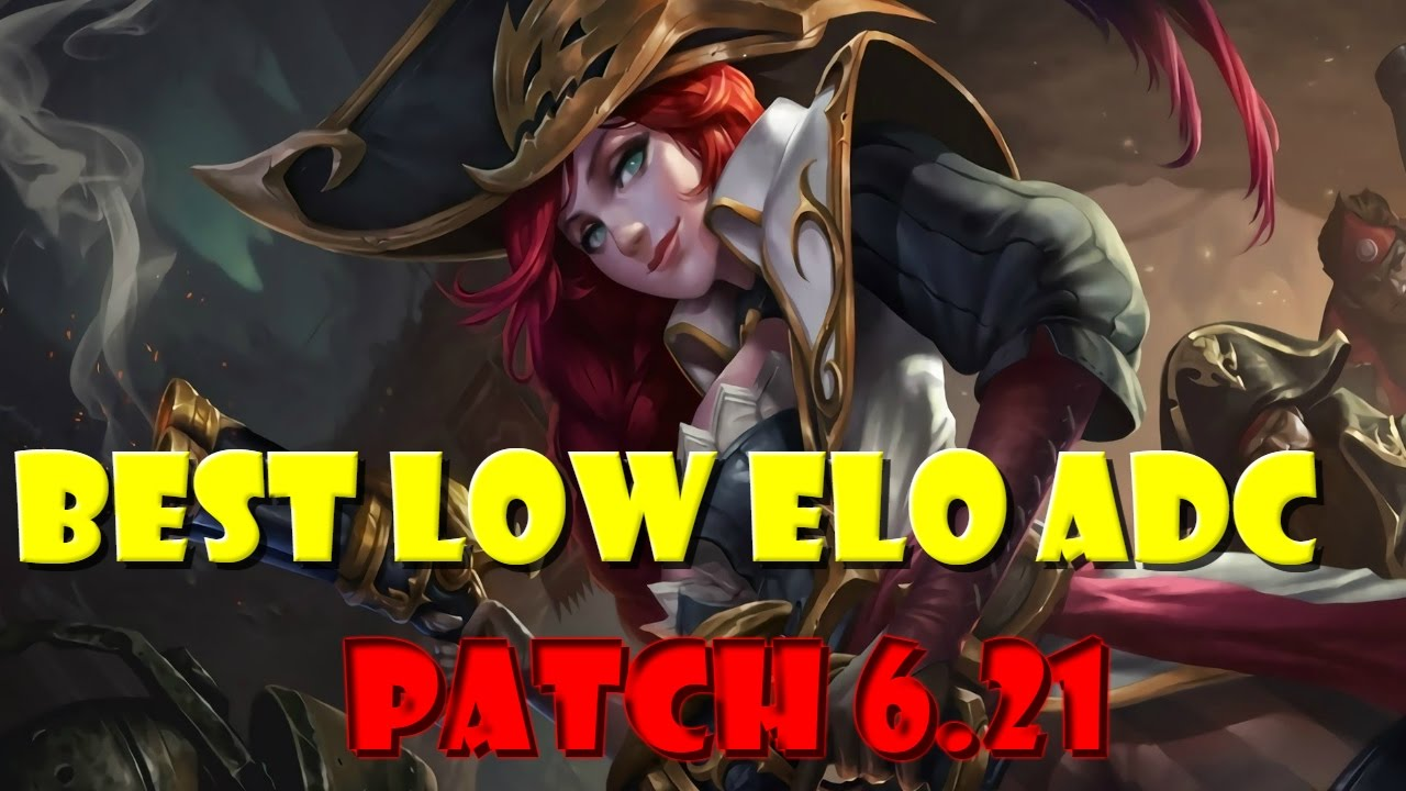 Top 5 Best ADC for Low Elo - Tier List Patch 6 21 (End of