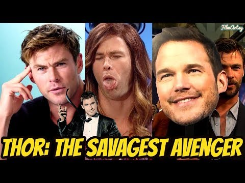 Chris Hemsworth Funniest Savage Moments   Try Not To Laugh 2018