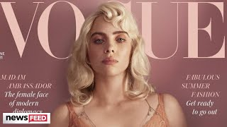 Billie Eilish STUNS In Sexy Lingerie For Vogue Cover Shoot!