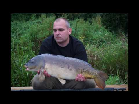 steve and keith at Drayton Reservoir catching carp