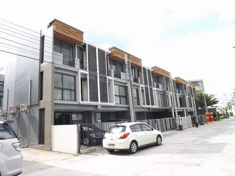 บ้านเช่าราคาถูก รามอินทรา Home Office ใหม่ ใกล้ห้างแฟชั่นไอส์แลนด์