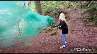 Grenades smoke bomb green
