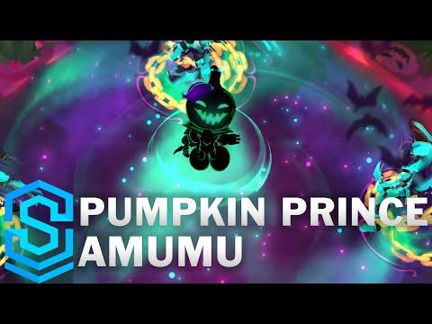Pumpkin Prince Amumu Skin Spotlight - Pre-Release - League of Legends