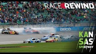 Race Rewind: Playing to the playoff whistle in Kansas | NASCAR at Kansas Speedway