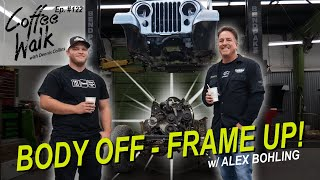 BODY OFF - FRAME UP JEEP CJ RESTORATIONS