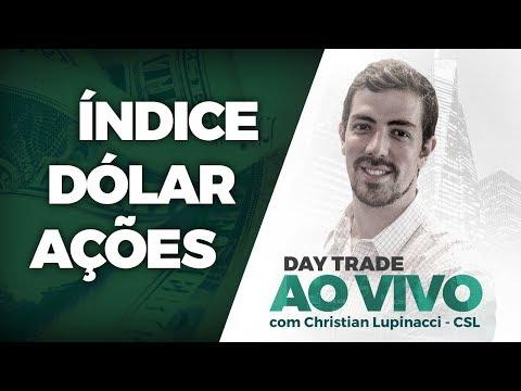 Day trade AO VIVO: Índice, Dólar, Ações - 23/05/2018 - CSL - Jacarezinho