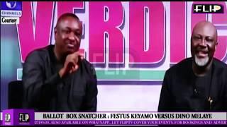 BUHARI'S ORDER ON BALLOT SNATCHING: FESTUS KEYAMO VERSUS DINO MELAYE