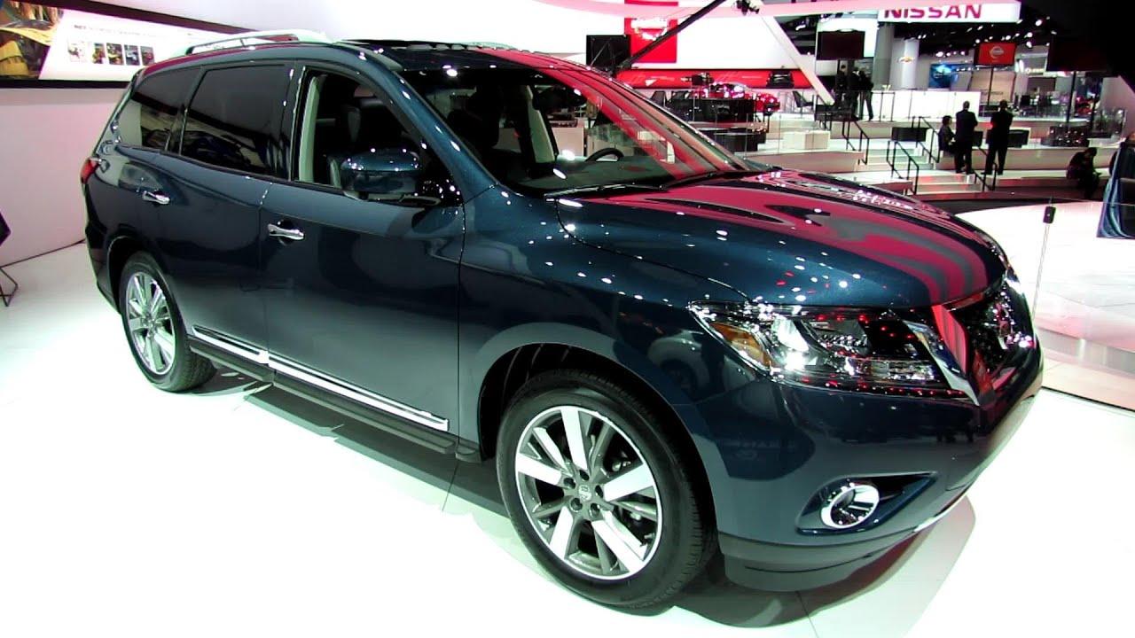 2013 nissan pathfinder platinum 4wd exterior and interior 2013 nissan pathfinder platinum 4wd exterior and interior walkaround 2013 detroit auto show vanachro Choice Image