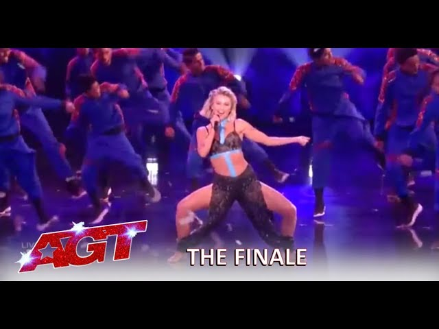 Julianne Hough Debuts Her New Song In SEXY Collab With V. Unbeatable | America\'s Got Talent