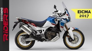 New Africa Twin Adventure Sports - Bigger and Better   EICMA