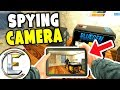 Spying Camera - Gmod DarkRP (Small OP Printers And Hidden Cam In Base!) Base Raid!