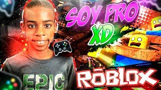MY SMALL BROTHER is a PRO PLAYER in ROBLOX!