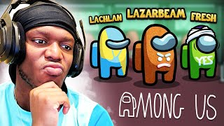 SIDEMEN AMONG US vs LAZARBEAM, LACHLAN & FRESH
