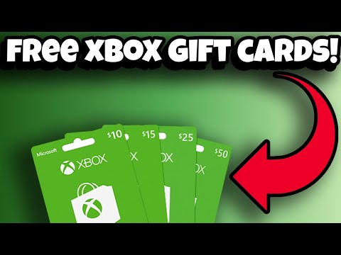 How To Get FREE XBOX GIFT CARDS! (FREE XBOX CODES!)