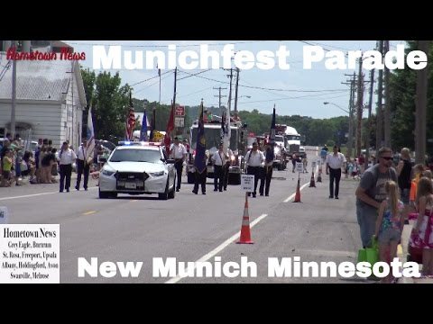 New Munich Minnesota Munichfest Parade June 18th, 2016 | Hometown News