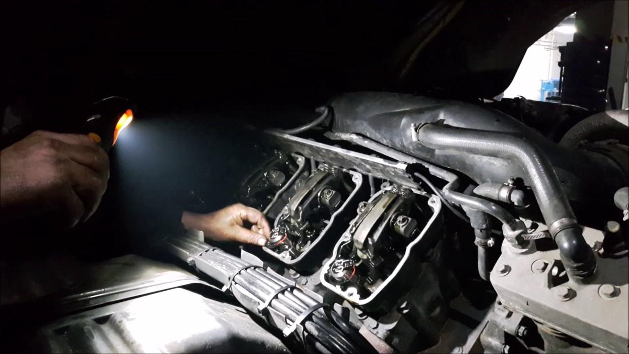 Scania V8 engine sound