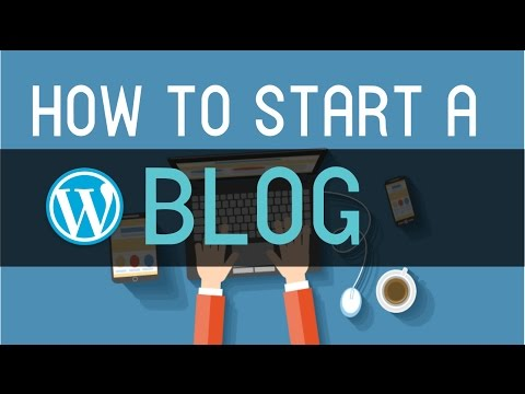 How to Make a Blog with WordPress - 2016