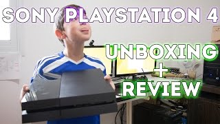 UNBOXING - Playstation 4 - קונסולה